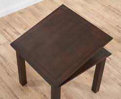 udine solid dark oak 90cm flip top extending dining set with 4 dakota ivory chairs
