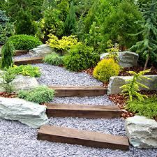 garden design using sleepers. railway sleepers garden design using a