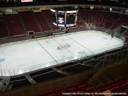 Pnc Arena Seating Chart Post Malone Pnc Arena View From Upper Level 326 Vivid Seats