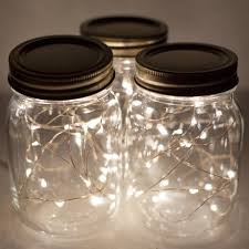 lighting in a jar. Cool Design Christmas Lights In A Jar Craft Lighting