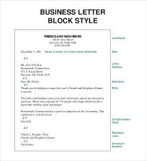 Sample Business Letters Format Business Letter Rome Fontanacountryinn Com