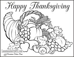 Small Picture Thanksgiving Coloring Pages Pdf 6 olegandreevme