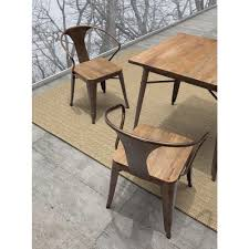 black wood dining chair. Dark Wood Dining Chairs Elegant ZUO Helix Brown And Metal Chair Set Of 2 108148 With Regard To 29 Black R