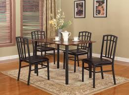 metal kitchen table. Gorgeous Metal Dining Room Table Chairs Black Interior . Kitchen
