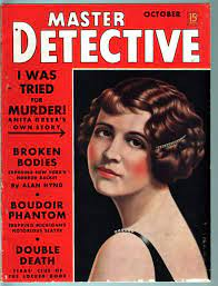 MASTER DETECTIVE OCT 1938-FN-PULP STYLE CRIME MAG-ANITA GREER CVR/ARTICLE  FN at Amazon's Entertainment Collectibles Store
