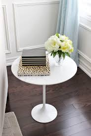 Styling A Round Coffee Table Round Side Table Ikea Night Stand Ikea Mirrored Side Table Target