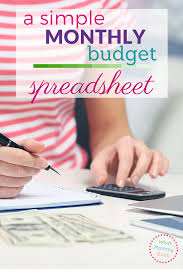 Budget Monthly Expenses Spreadsheet Free Sample Monthly Expenses Spreadsheet What Mommy Does