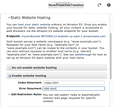 A Beginner's Guide to Amazon S3 and Web Hosting | small data Journalism