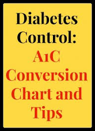 Diabetes Readings Conversion Chart Diabetes Control A1c Conversion Chart Tips Easyhealth