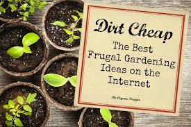 cheap garden ideas. Dirt Cheap: The Best Frugal Gardening Ideas On Internet - Organic Prepper Cheap Garden
