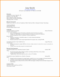 Nutrition Specialist Sample Resume Fresh Teen Resume Samples