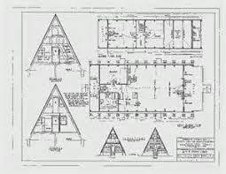 ... Superior 4 Bedroom Cabin Plans #7: A Frame Cabin Plans Blueprints ...