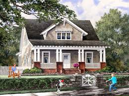 bungalow cottage craftsman farmhouse house plan 86121 elevation