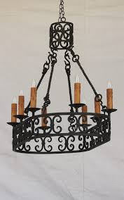 mesmerizing spanish style chandelier img in lights of tuscany pot rack oval lightbox moreview coastal chandeliers copper orb houston turkish moroccan wall