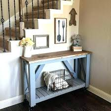 Entrance Hall Table Awesome Console Wooden Entry