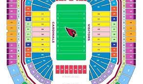 Cardinal Stadium Seating State Farm Stadium Seat Views