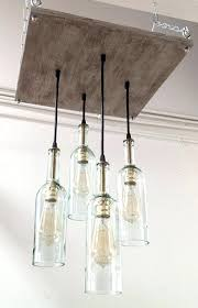 bottle chandelier diy recycled wine bottle chandelier industrial chandelier like this item water bottle chandelier diy