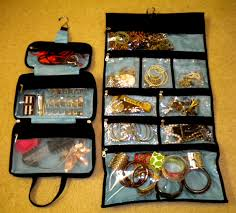 Bracelet Organizer Ideas Roll Up Jewelry Organizer Jewelry Ideas