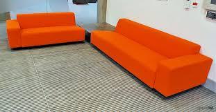 orange office furniture. 17 Orange Fabric Modular Reception Sofa Small Office Furniture