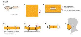 how to make a bandana face mask