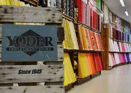 Featured Quilt Shop: Yoder Department Store Â« modafabrics & The Solid Fabric Source Since 1945 Adamdwight.com