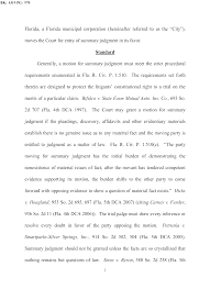 city successfully defends wendler s bert harris act lawsuit  order granting defendant s motion for final summary judgment page 02 order granting defendant s motion for final summary judgment page 03