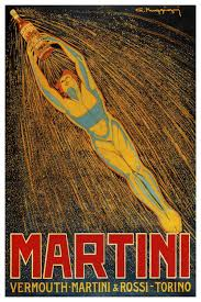 canvas on martini and rossi wall art with martini vermouth martini rossi advertising vintage poster