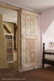 diy sliding barn door using the existing