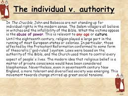 the crucible arthur miller ppt  37 the individual