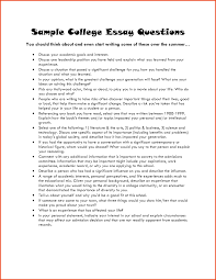 Example Of College Essays For Common App Successful Common App Essays