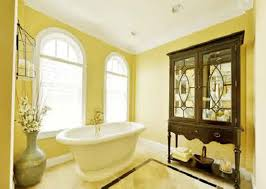 Yellow Bathroom Bathroom Paint Yellow Ideas With Tiles Streaks Light 7del