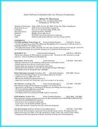 Resume Of Java Developer Englishor Com