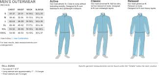 First Ascent Mens Clothing Size Chart Clothing Size Chart