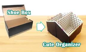 diy decorated storage boxes. Diy Ideas Storage Organizer With Shoe Box Decorated Boxes T