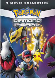 Pokemon Diamond and Pearl: 4-Movie Collection [DVD] - Best Buy