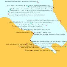 Redwood Creek Marker 8 San Francisco Bay California Tide Chart