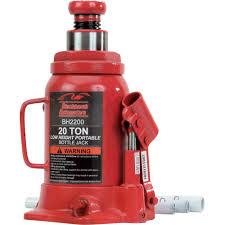Blackhawk Automotive Heavy-Duty 20-Ton Hydraulic Bottle Jack \u2014 Model# BH2200 Model