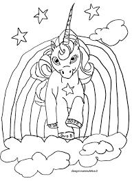 Disegno Da Colorare Unicorno Disegni Mammafelice Con Disegni Di