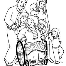 Small Picture Grandmother and Her Big Family Coloring Pages Color Luna