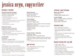 Copywriter Resume | Jkhed.net