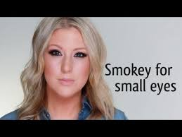 smokey makeup for small eyes julianne hough