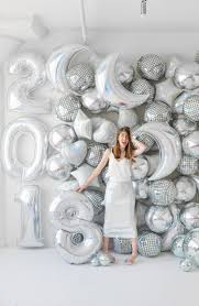 New Year Backdrops Diy Holographic Balloon Backdrop Studio Diy