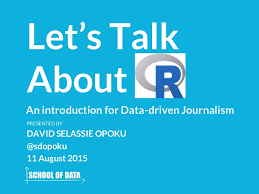 Journalism Quotes Mesmerizing Skillshare Let's Talk About R In Data Journalism