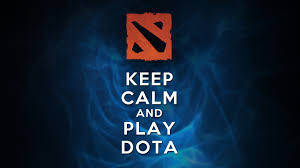 keep calm and play dota by thecodeofhonour on deviantart
