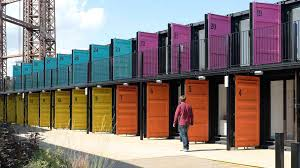container office design. Meet Containerville Londons Shipping Container Office Space Design M