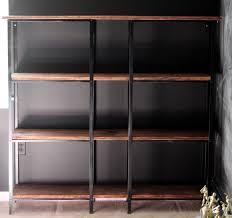 ikea industrial furniture. ikea hack rusticindustrial bookcase industrial furniture e