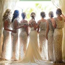 2018 Charming Popular <b>Sparkly Bling Sequin</b> Long Bridesmaid ...