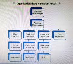 Small Hotel Organisational Chart Organizational Chart Of Housekeeping Department In A Small