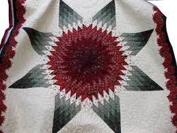 Kathy Barlow's Quilt Photo Gallery - KathyQuilts.com & KathyQuilts.com Quilt Gallery Lone Star Poinsettia Full View Adamdwight.com