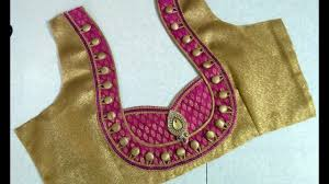 Different Types Of Blouse Back Neck Designs 2016 Top 10 Neck Designs Patch Work Blouse Images Blouse Designs For Silk Sarees